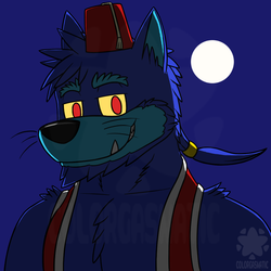 Color the Werewoof