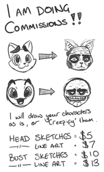 Accepting Quick Commissions.