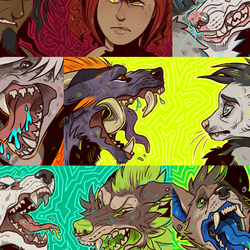 Freak out icons - Batch Complete
