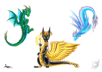 Baby Dragons - Set 1