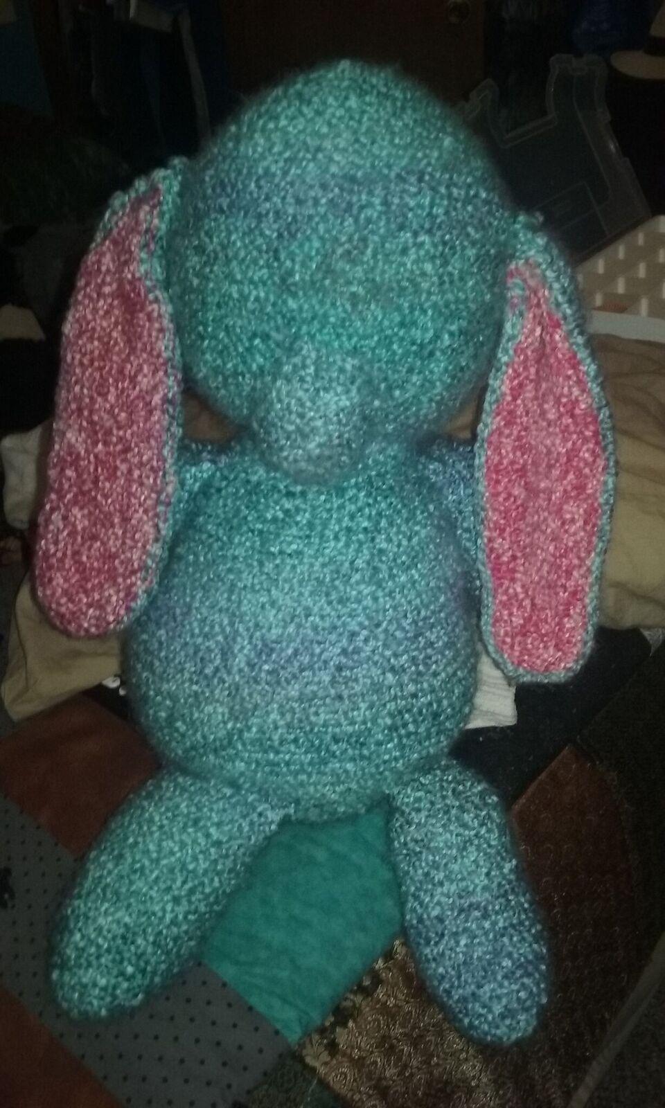 crochet bun