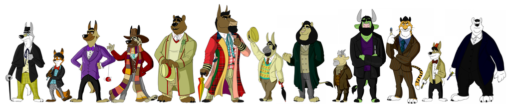 Doctor Zoo Full (Size comparison)