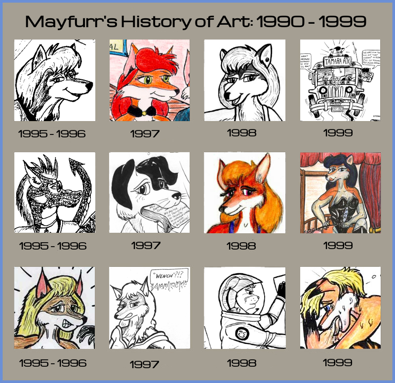History of Art 1995 to 1999