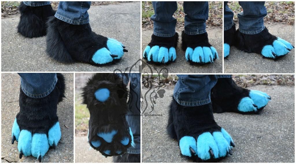 [//Commission] Fenrir's feetpaws