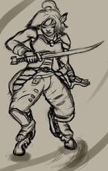 (Old Art) [Comm] Combat Karen 1