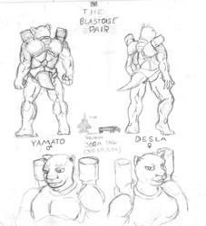 New Characters: The Blastoise Pair