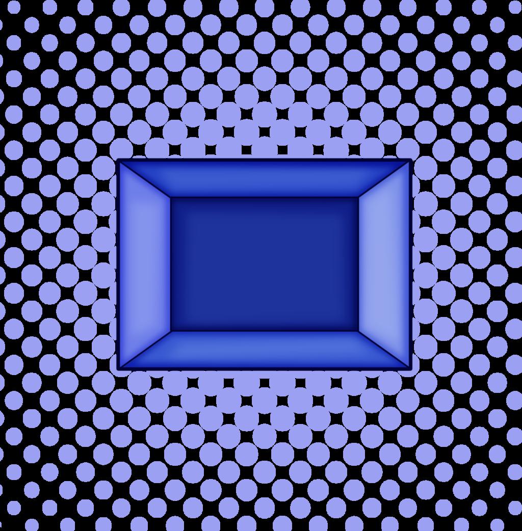 Blue Zircon Gem