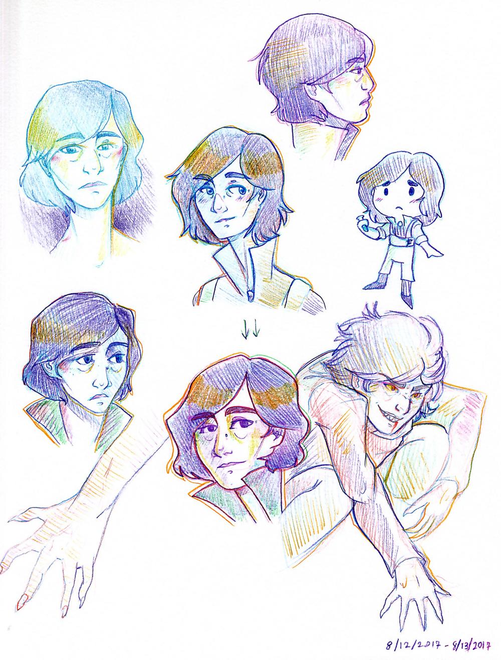 [Sketchbook] Hypatia