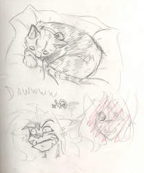 2013-03-08 - Sketches - Lady!