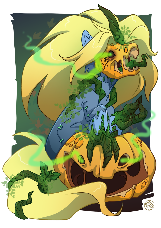 HALLOWEEN VIAL | Pumpkin Mynder | FEARDAKEZ