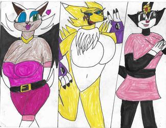 The furry ladies