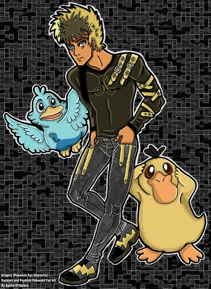 .:Gregory and Pokemon:.