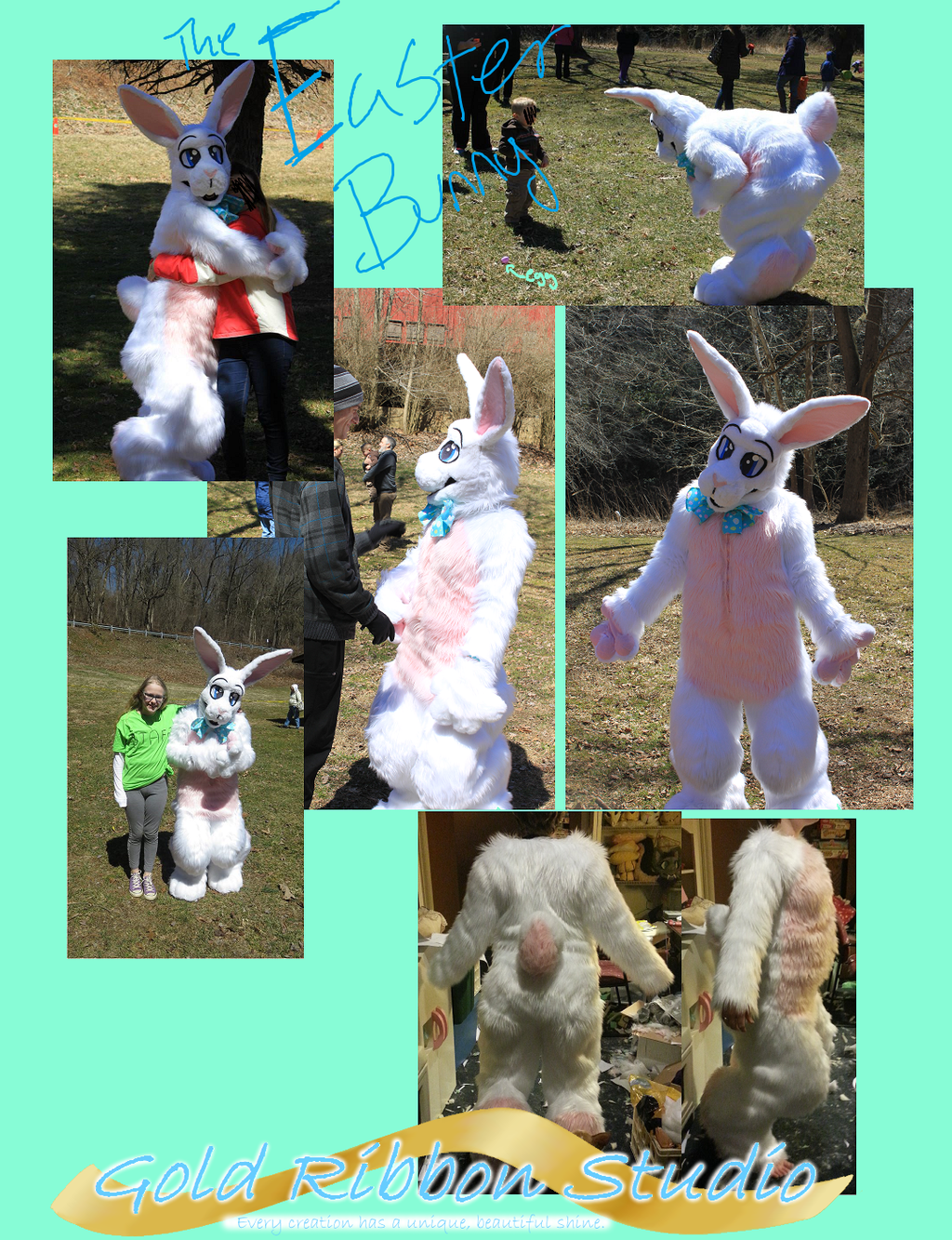 Easter bun suit