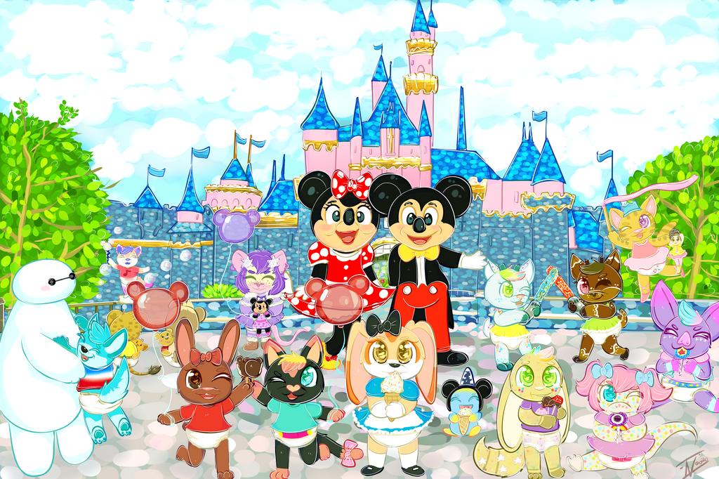 Disneyland group commission