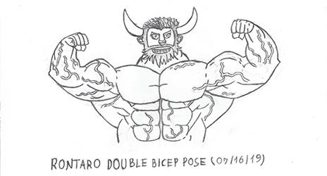 Rontaro Bultor Magno - Double Bicep