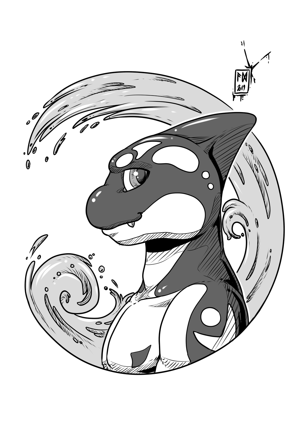 Ink-Profile N°50:Cise the Orca