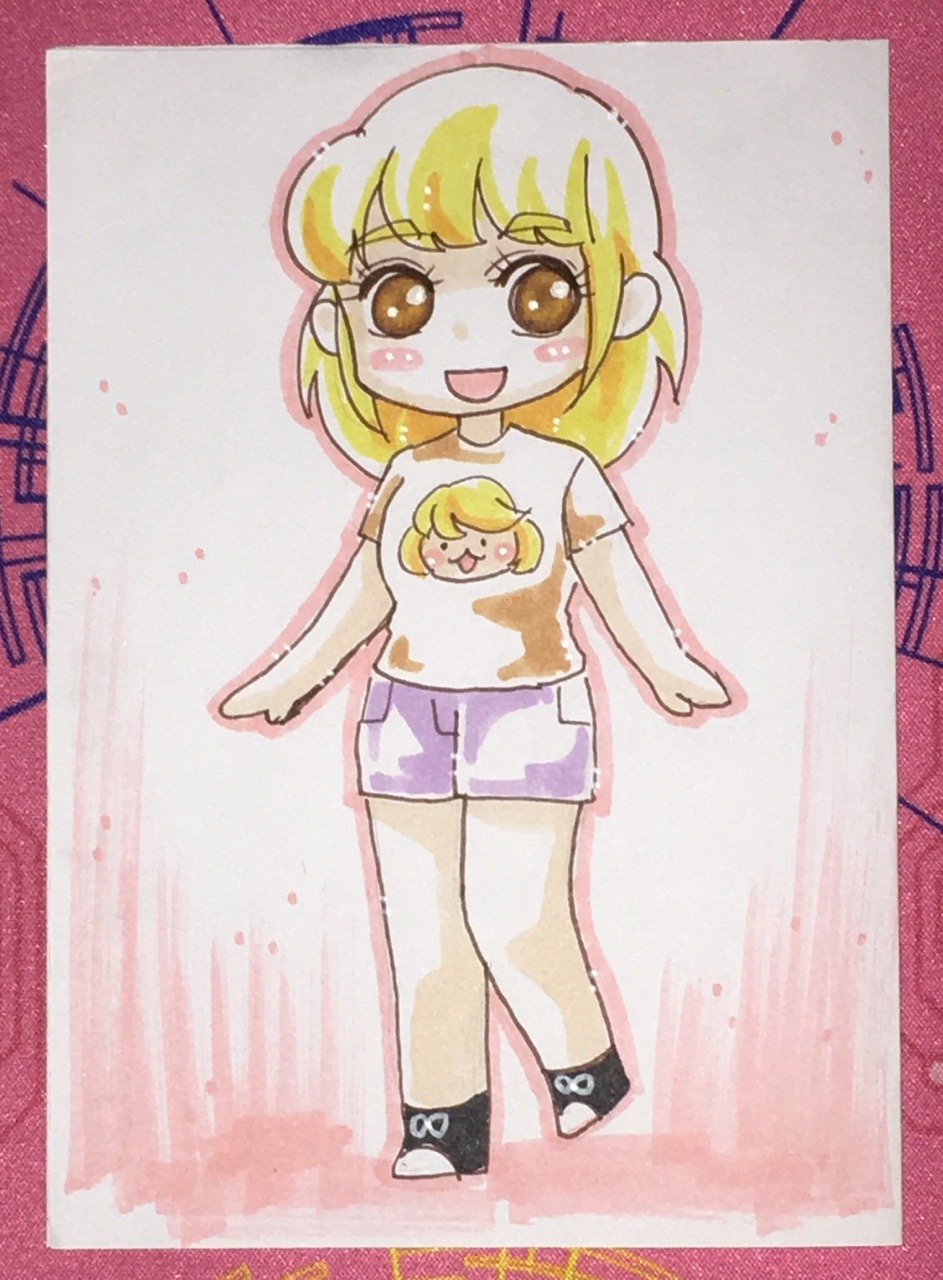 Tiffany - Japan Convention Art by cloverlee!