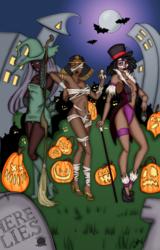 Halloween Pinups