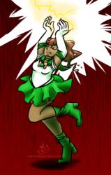 Sailor Jupiter -- Thunder Call