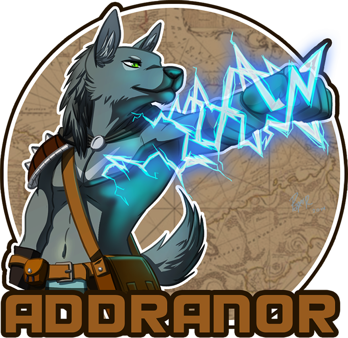 Most recent image: Addranor Badge V2 ⌠-PaperRabbit-⌡