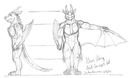 Gem Wing - Initial Suit Concept