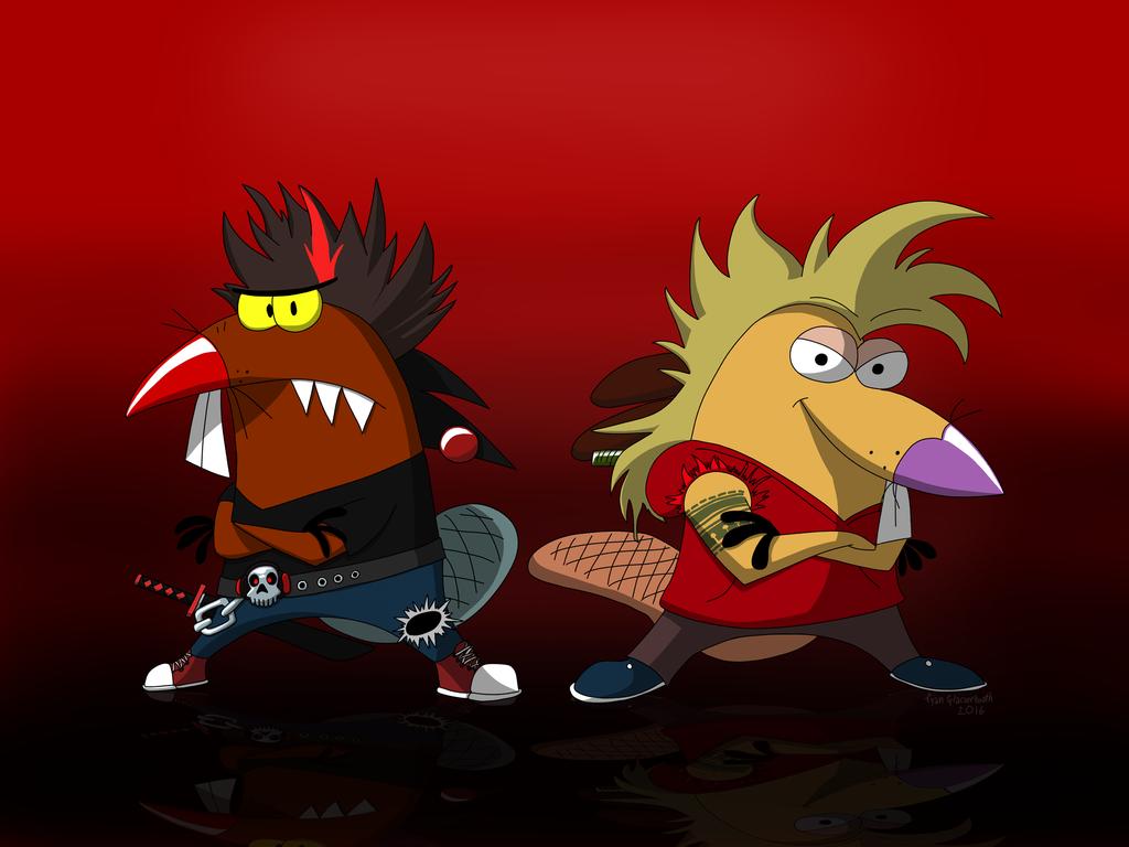 New World Angry Beaver Punx