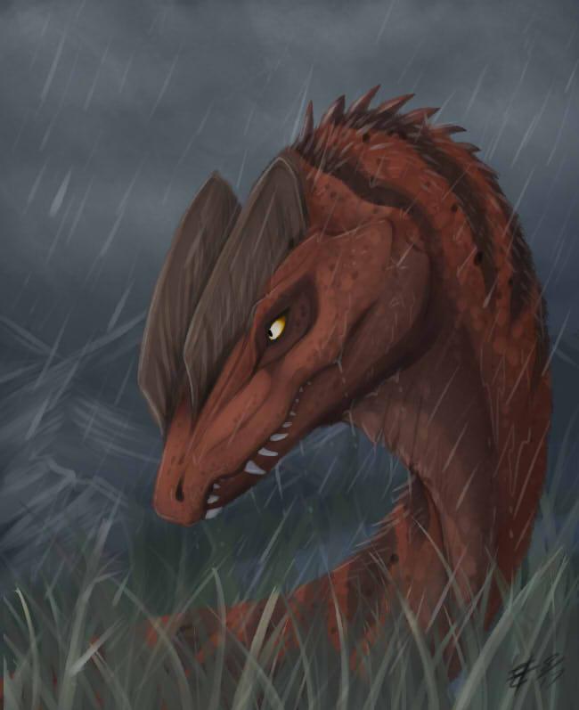 Dilophosaurus Speedpaint