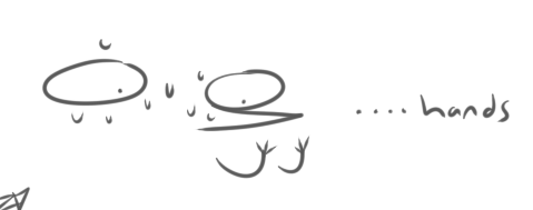 Most recent image: When i try to draw hands