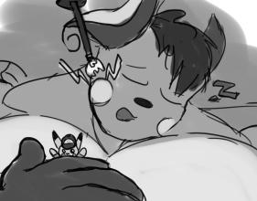 Sketchmission: Sleeping Growing Raichu