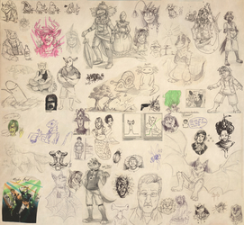 School Scribbles IV
