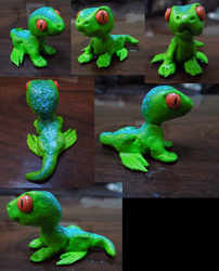 Lil Green Lizard (BABY REPTAR)