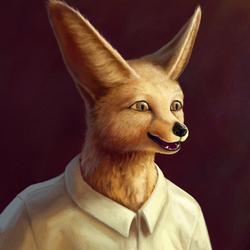 Fennec Portrait
