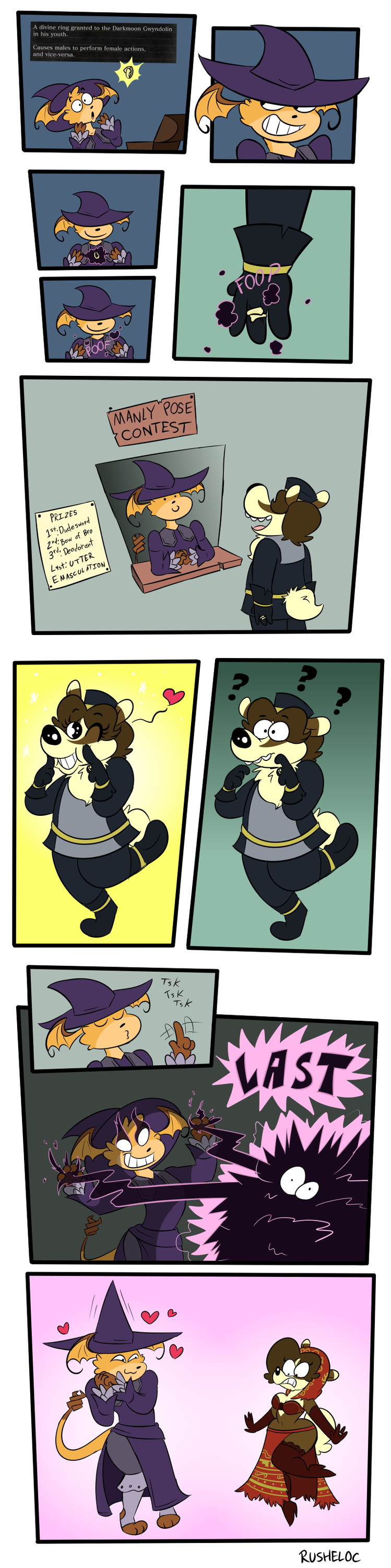 Quickie Comic - Ring Out