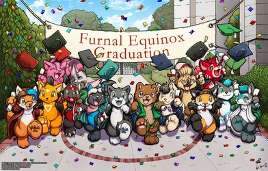 Graduation Photo: FE 2019 (YCH Collab w/O-kemono)