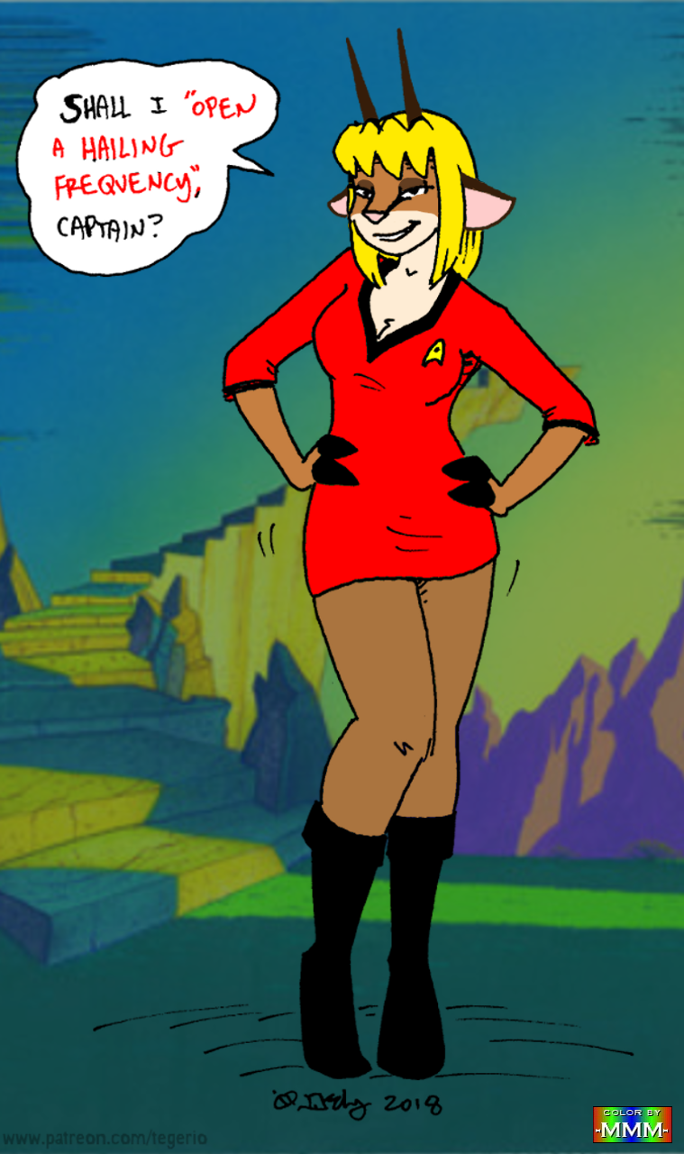 Estelle Trek (Color by MMM)