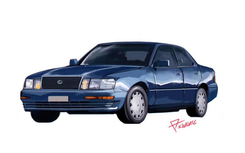 Most recent image: Lexus LS 400 study