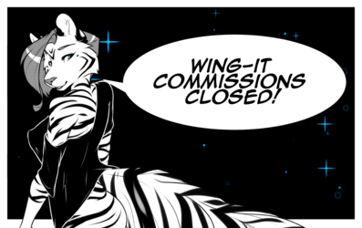 Wing-it Commissions Closed!