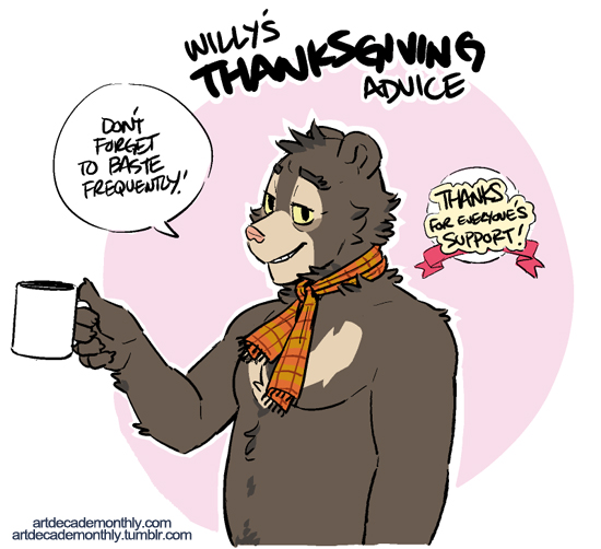 Willy's Thanksgiving Advice