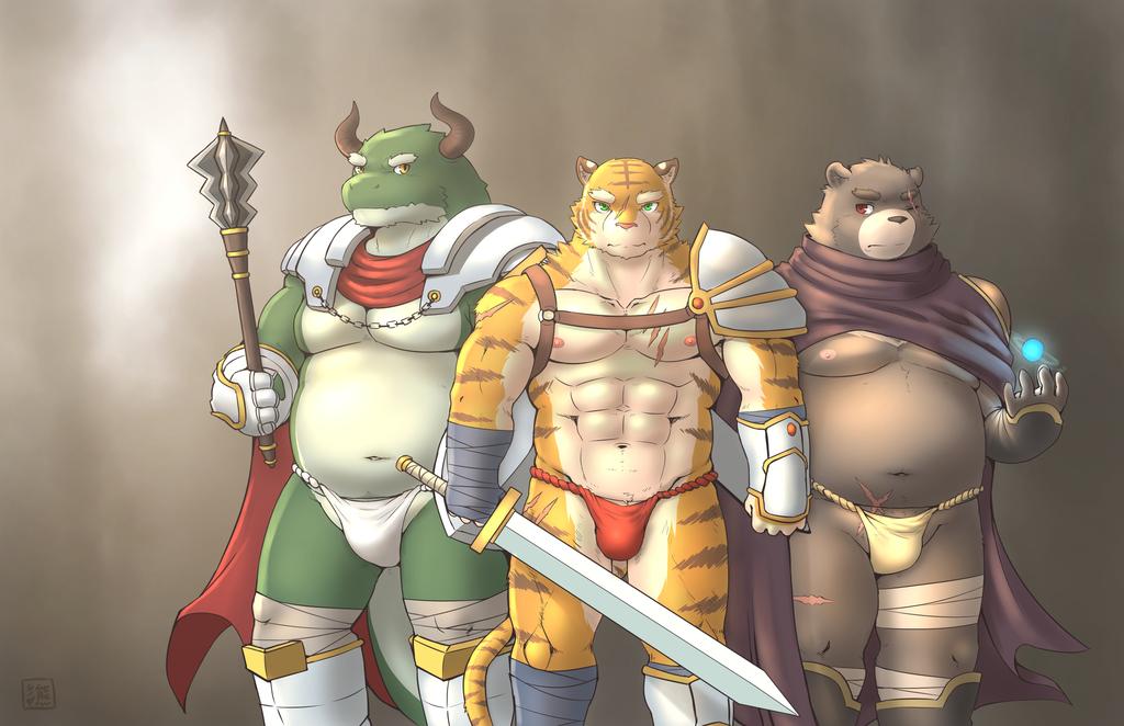 The loincloth warriors
