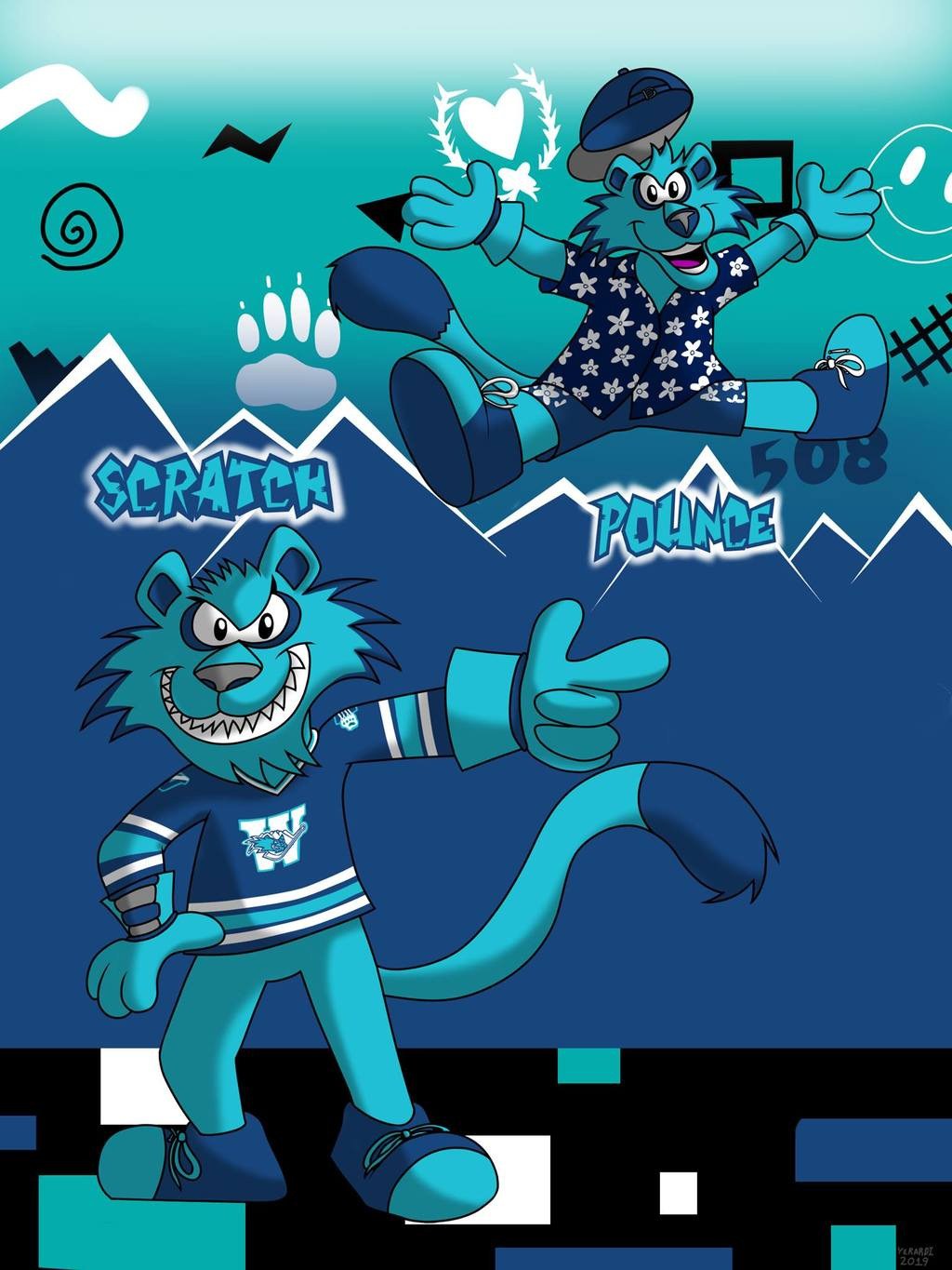 AHL MAX: Defunct Edition - Scratch & Pounce (Worcester Icecats)