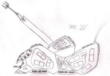 """MR Medium Artillery """"ARC 20"""""""