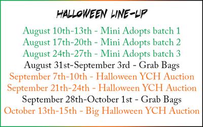 Halloween Line-Up
