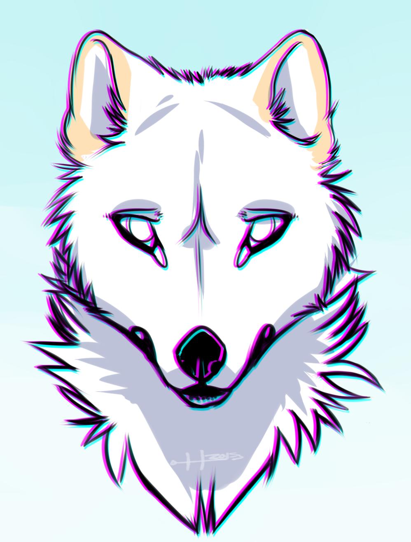 3D Snow Fox