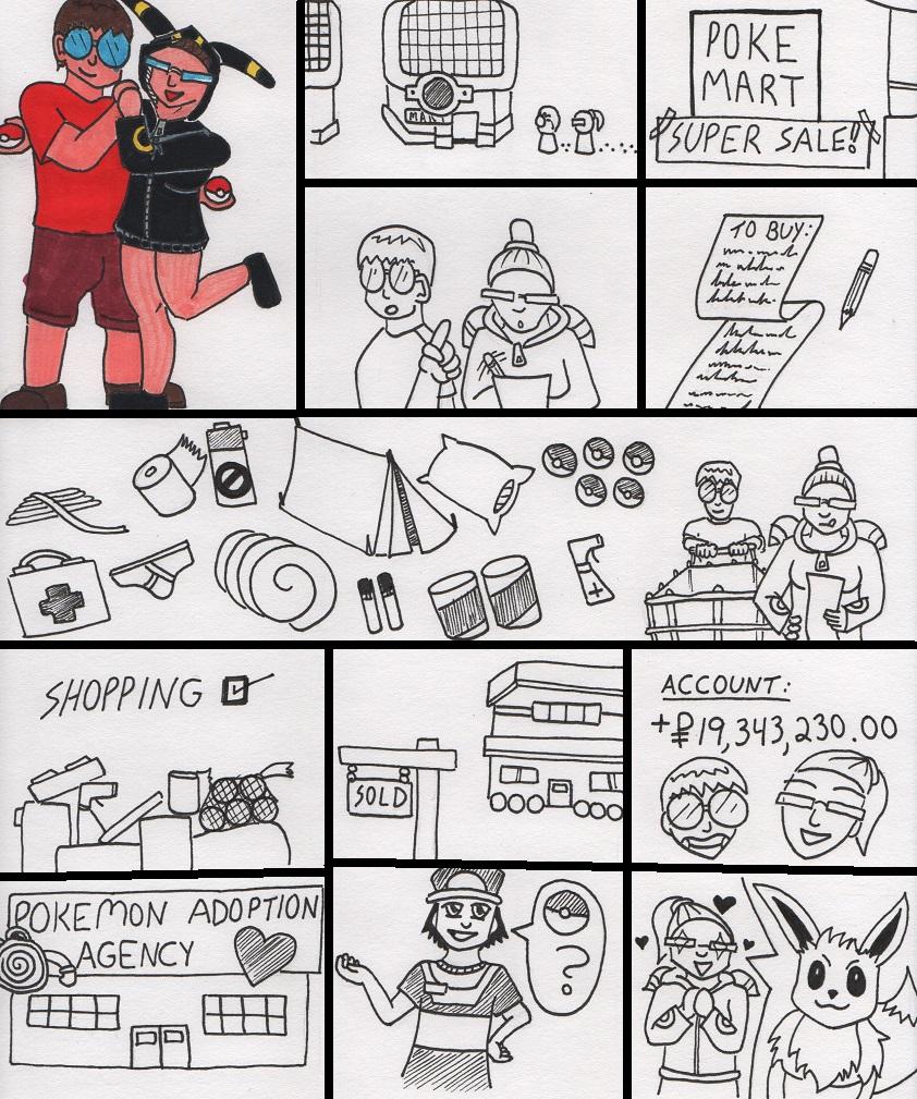 Az and Angel's Pokemon Journey P3