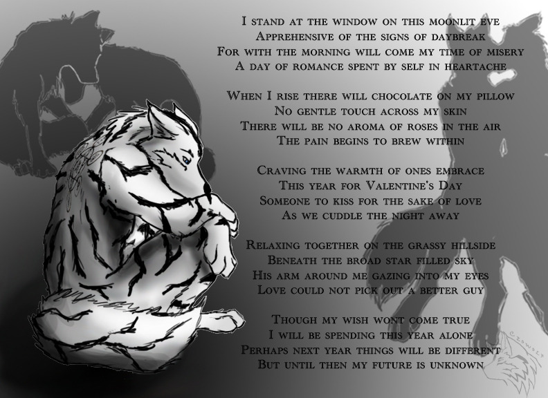 Alone for V-day