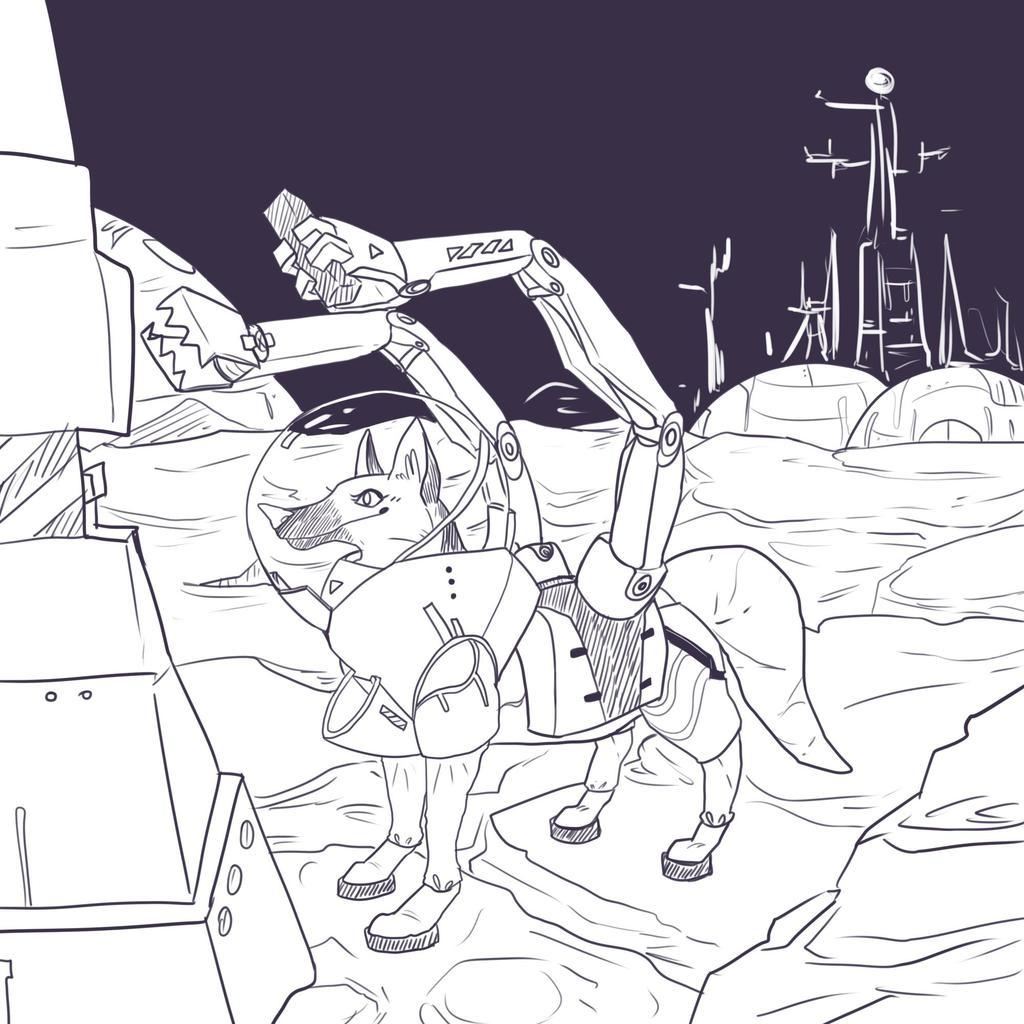 Spacedog Laika at Work