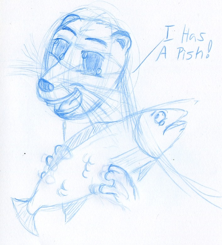 Free Twitter Sketch Otter