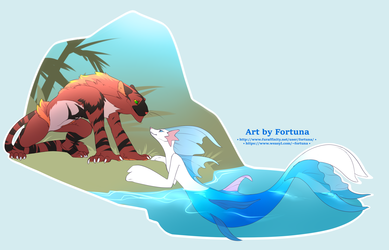 [Pokemon] Cats and Seals