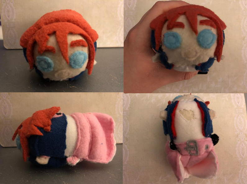 RWBY Nora Valkyrie Stacking Plush Commission