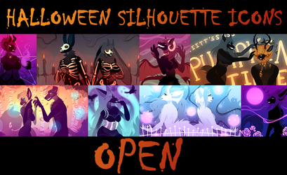 Halloween Icons OPEN